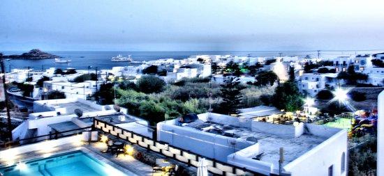 Pelican Bay Art Hotel: View from balcony