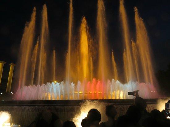 Les Fontaines magiques de Montjuïc : Fountain