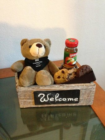 Hilton Munich Airport: welcome gift for our baby