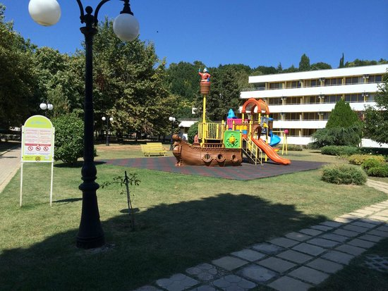 Hotel Dobrotitsa: детская площадка