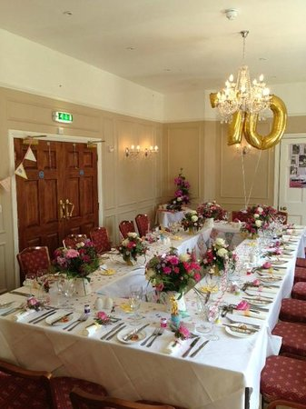 Bartley Lodge Hotel: Georgian Room - Private dining