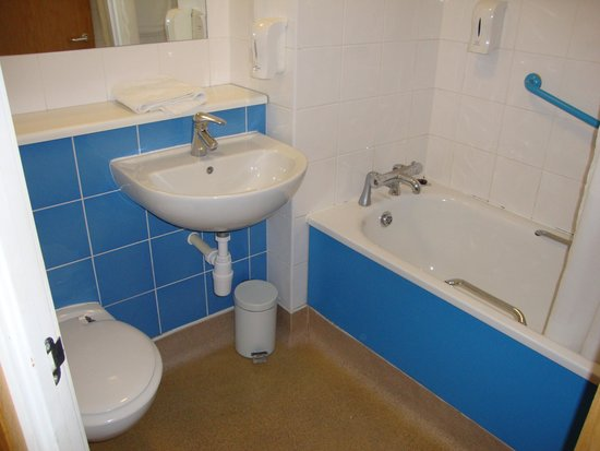Travelodge London Central City Road : bagno