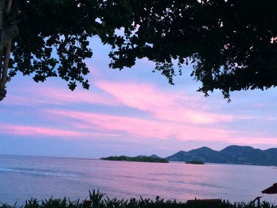The Briza Beach Resort Samui: tramonto