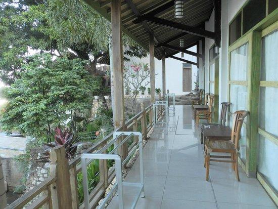 Green Hill Boutique Hotel: sorte de terrasse commune