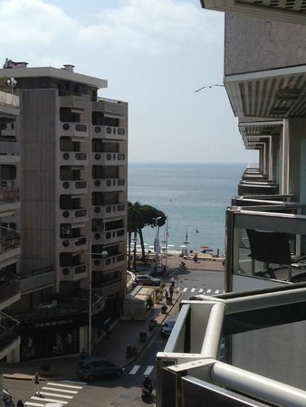 JW Marriott Cannes: View from our balcony