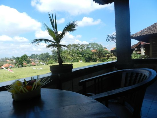 Kunang-Kunang Guesthouse: vue de la chambre