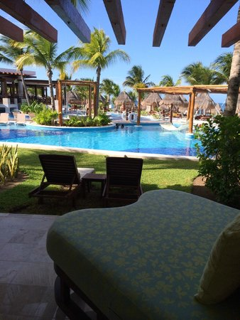 Excellence Playa Mujeres: View form our veranda