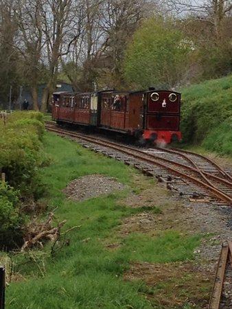 Talyllyn Railway: Passing train