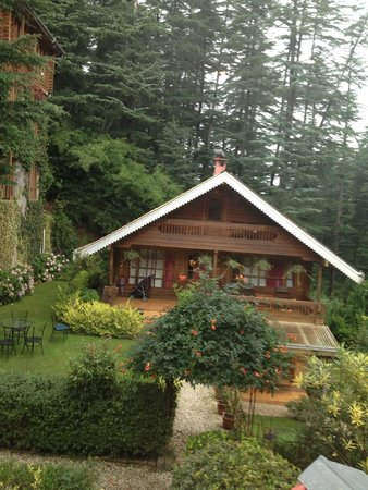 The Chalets Naldehra : the cottage i stayed