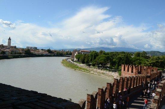 Scaligero-Brücke: vista dal ponte