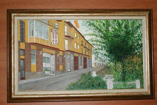 Hostal Sant Bernat: art dins el nostre hotel
