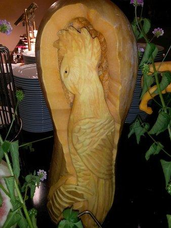 Hotel Riu Kaya Belek : Hand-made pumpkin decoration