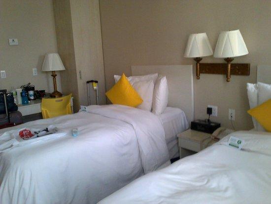 SoHo Garden Hotel : Foto real de la habitacion doble (2 camas)
