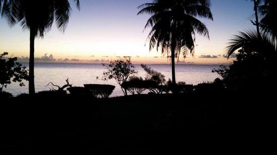 Pension Tokerau Village: Tramonto