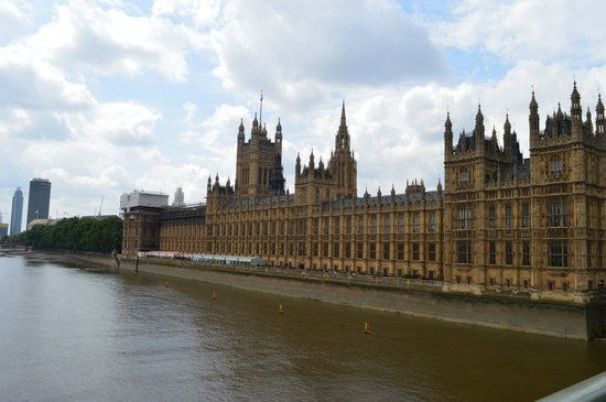 Houses of Parliament/Westminster-Palast: The outside