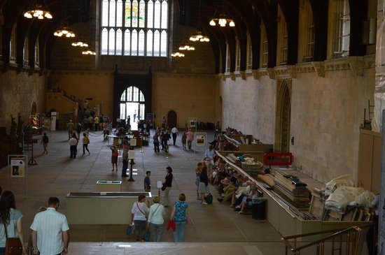 Houses of Parliament/Westminster-Palast: Westminster Hall