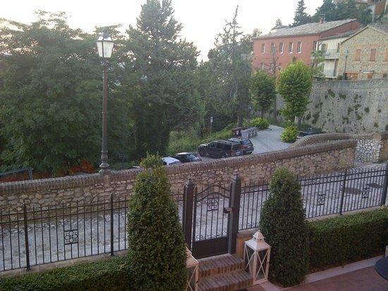 Oste del Castello Wellness & Bike : Zimmeraussicht
