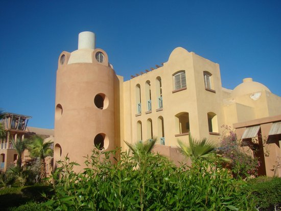 Miramar Resort Taba Heights: Fragment hotelowego skrzydła