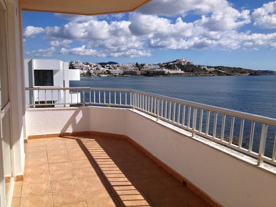 Apartmentos Playa Sol II: Grand balcon