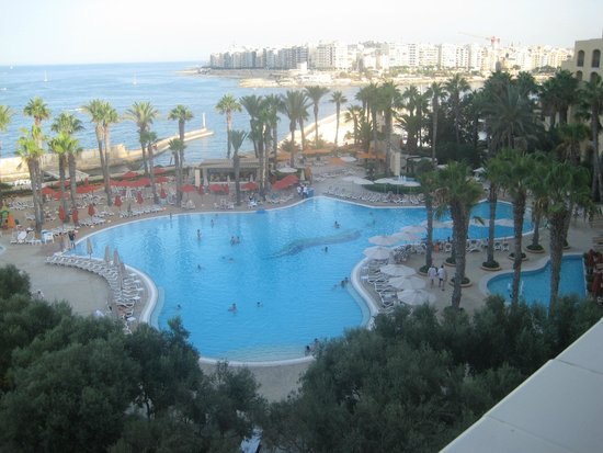 Hilton Malta: Room 845 view