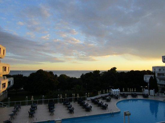 Hotel Delfin: Вид из номера