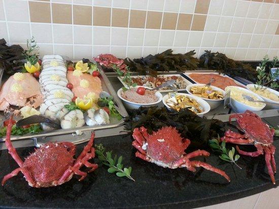 La Lagune Beach Resort and Spa : Grand buffet fruits de mer