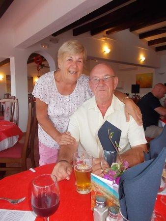 Dean Lafosse at Pedros: My wonderful husband's birthday celebration