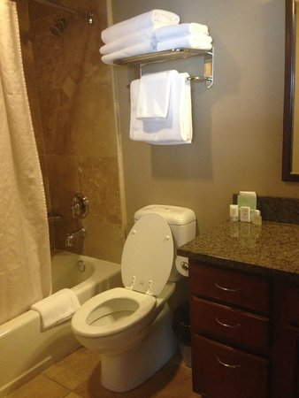GrandView On The Lake: One of two bathrooms