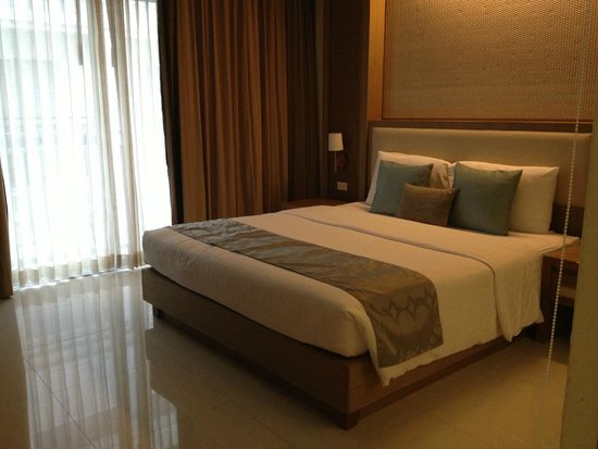 The ASHLEE Plaza Patong Hotel & Spa: Letto