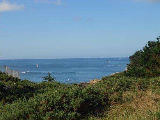 Village Club Cap Vacances Port-Manech: magnifique vue du complexe