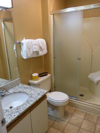 Anchorage Downtown Hotel: Bathroom