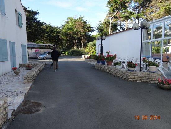 Hotel Les Grenettes : agréable ce domaine ! pour se promener