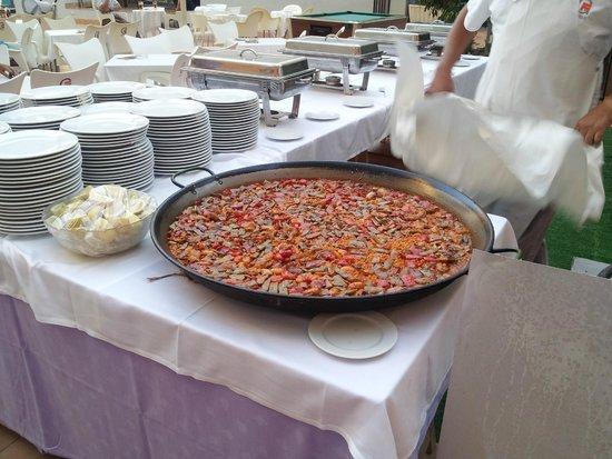 Hotel Benidorm Plaza: Paellita rica rica