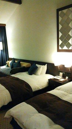Tateshina Tokyu Hotel: 1階のお部屋