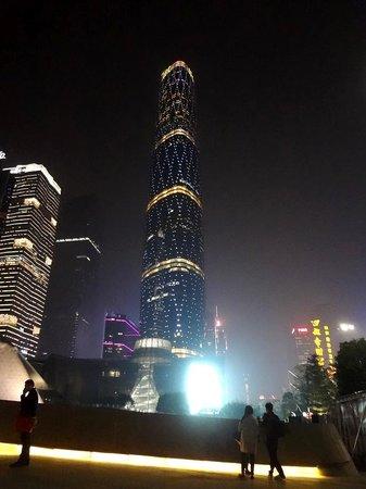 Zhujiang New Town: Главный IFC (Международный финансовый центр)