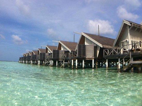 LUX* South Ari Atoll: Water Villa (rear view)