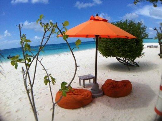 LUX* South Ari Atoll: Beach view
