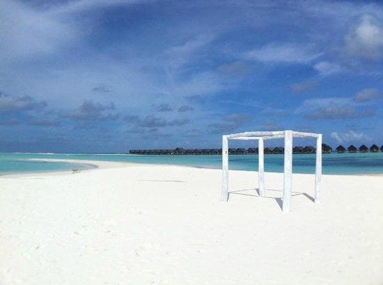 LUX* South Ari Atoll: Ceremony area