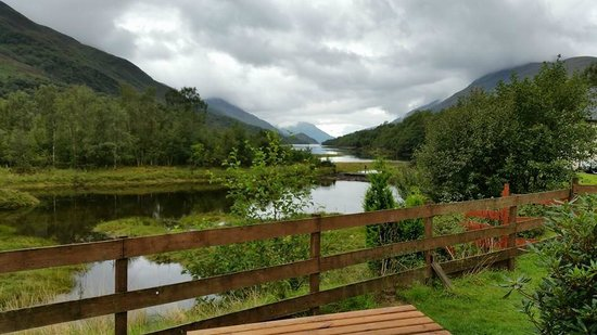 The MacDonald Hotel & Cabins : The view