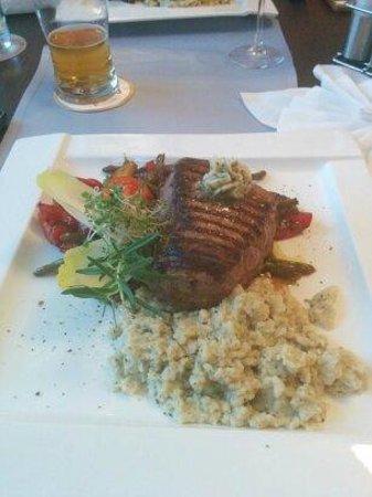 Hotel Slask: Dinner at the hotel.