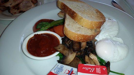 Elizabeth's : vegetarian breakfast