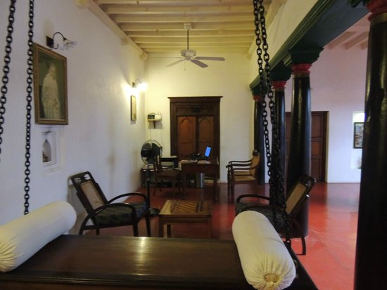 Anantha Heritage Hotel: Reception area