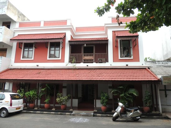 Anantha Heritage Hotel: From Outside