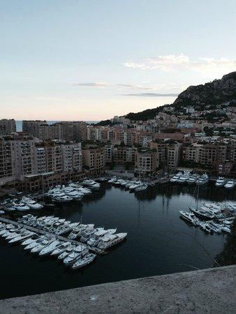 Riviera Marriott Hotel La Porte de Monaco : Beautiful Monaco View