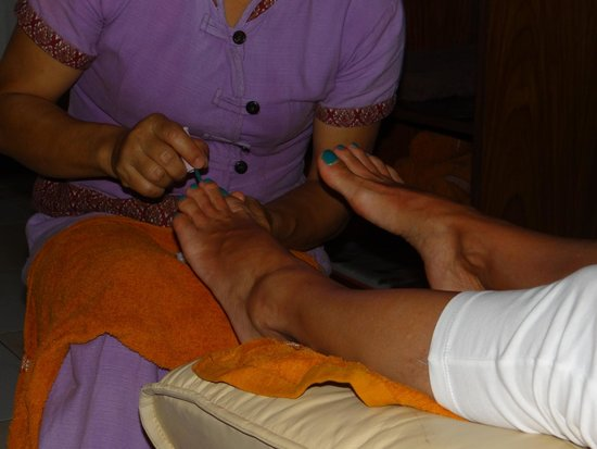 Infinity Guesthouse: pedicure
