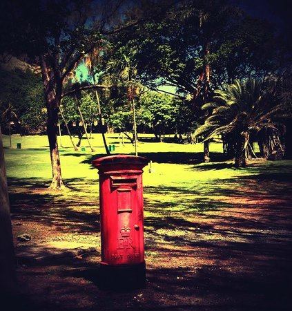 Rendezvous Resort: Pigeon Island post box