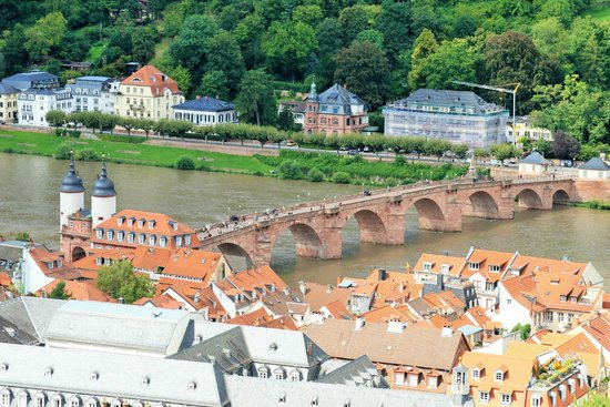 Alt Brucke from Schloss Heidelberg