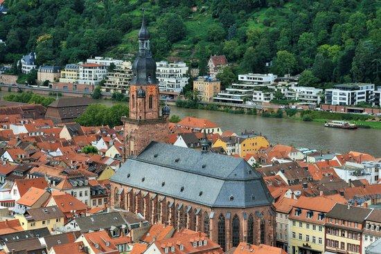 Schloss Heidelberg: Heidelberg from Schloss