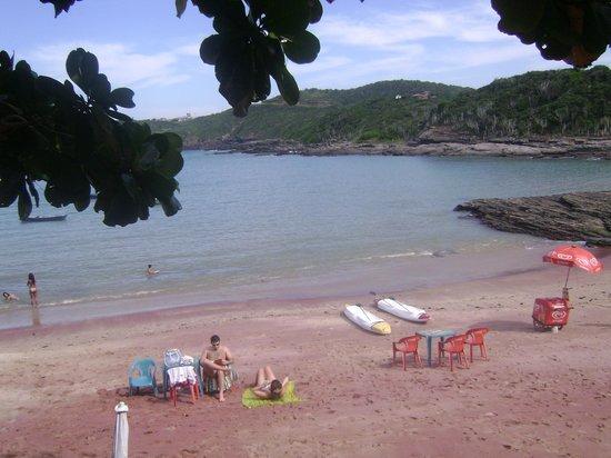 Tartaruga Beach: calma e bela