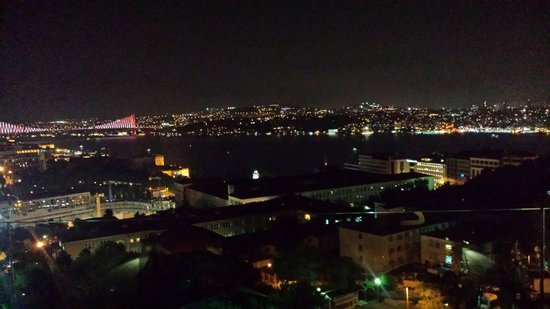 Gezi Hotel Bosphorus : The view from our room